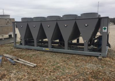 Carrier 150 Ton Chiller - side of equipment