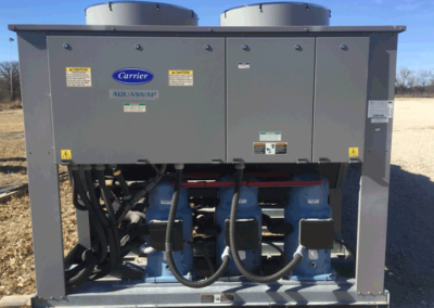 Carrier 150 ton air cooled chiller