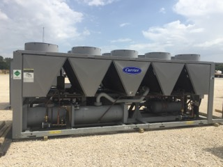 CARRIER – 160 Ton New Surplus Air Cooled Chiller