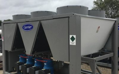 CARRIER – 100 Ton Air Cooled Chiller – New Factory Overstock (Includes Warranty)
